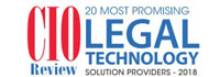 20 Most Promising Legal Technology Solution Providers - 2018