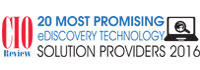 Top 20 EDiscovery Technology Solution Companies - 2016